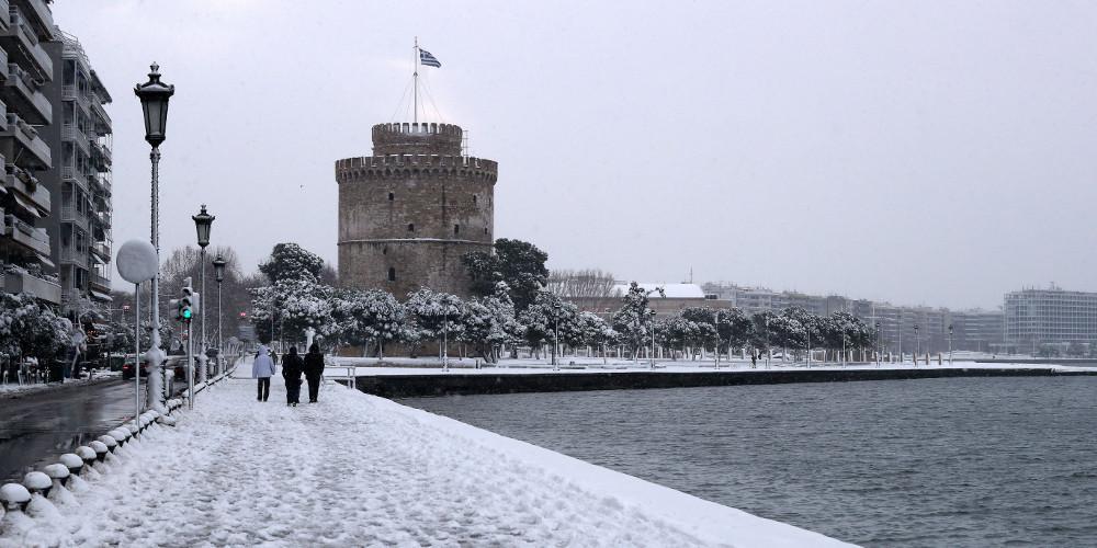 Σε κατάσταση έκτακτης ανάγκης κηρύχθηκε ο δήμος Θεσσαλονίκης λόγω κακοκαιρίας