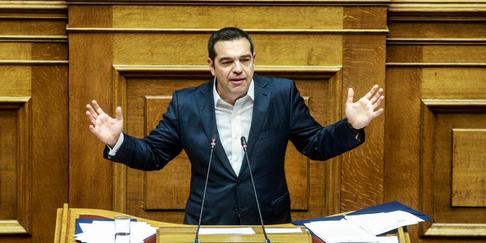 Τσίπρας στη Βουλή: Κάποιοι προσπάθησαν να υπονομεύσουν τη Συνταγματική Αναθεώρηση