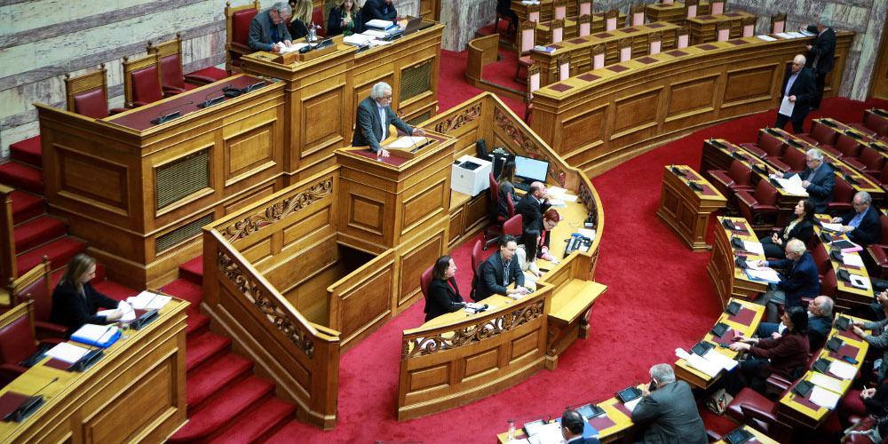 Live η συζήτηση στη Βουλή για το πρωτόκολλο εισδοχής των Σκοπίων στο ΝΑΤΟ