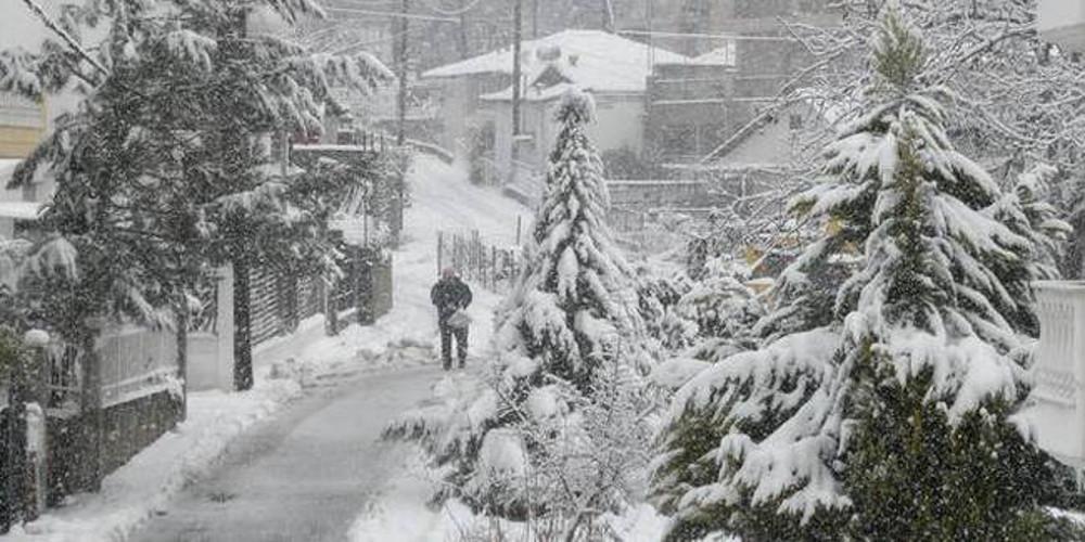 Συνεχίζεται η κακοκαιρία: Στα 70 εκ. το ύψος του χιονιού στην κορυφή του Τροόδους στην Κύπρο