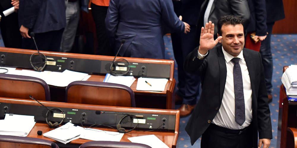Τις πρόωρες εκλογές εξετάζει ο Ζόραν Ζάεφ