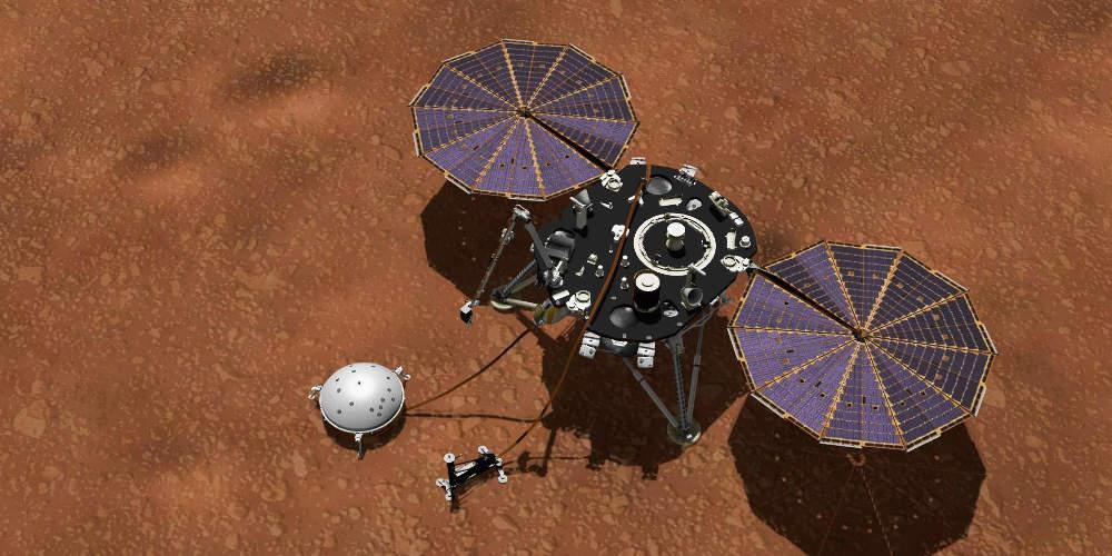 Πρόγνωση καιρού από τον… Άρη χάρη στο Insight