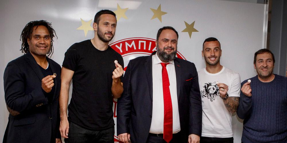 Mαρινάκης: Θα κερδίσετε τον ΠΑΟΚ και θα πάρουμε το πρωτάθλημα! [εικόνες]