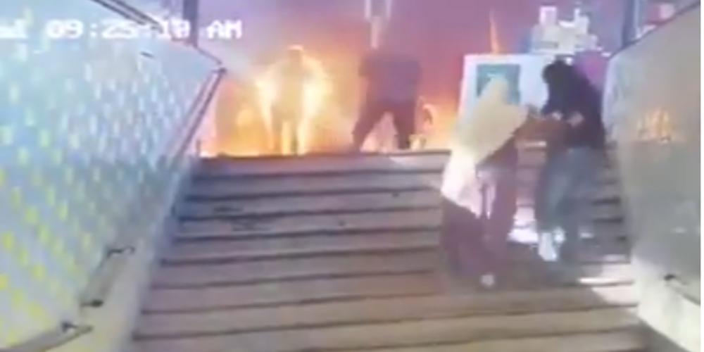 Βίντεο σοκ: Η στιγμή του δυστυχήματος με 25 νεκρούς στον σιδηροδρομικό σταθμό του Καΐρου
