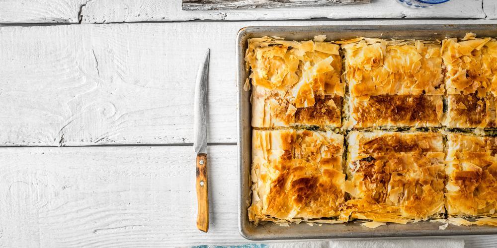 Η συνταγή της ημέρας: Κιμαδόπιτα από τον Πέτρο Συρίγο