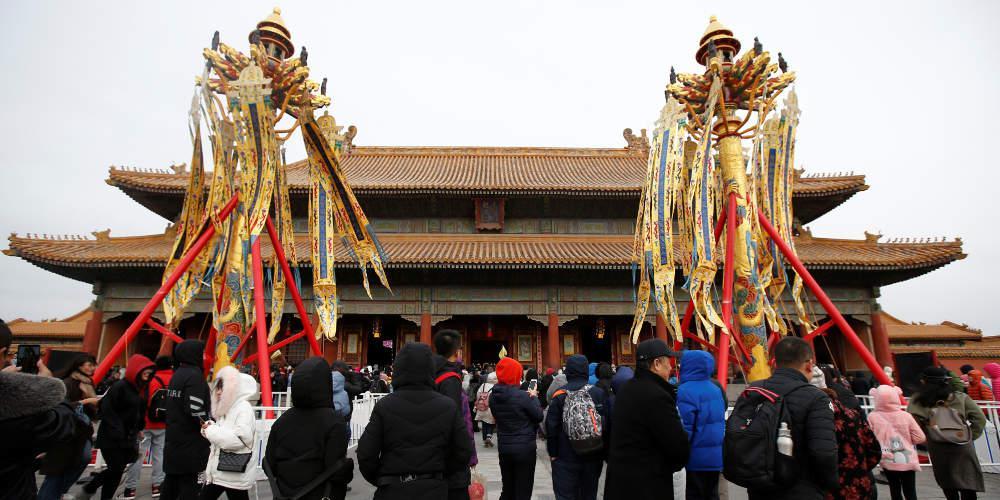 Αποκαλύπτεται ένα «μυστικό» της Απαγορευμένης Πόλης του Πεκίνου