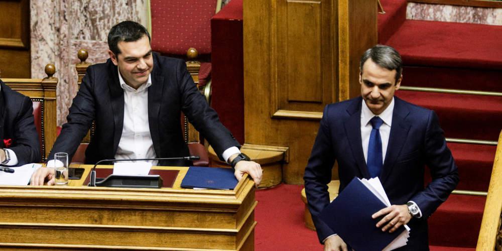 Sueddeutsche Zeitung: Δύο τελείως διαφορετικοί άνθρωποι Τσίπρας και Μητσοτάκης