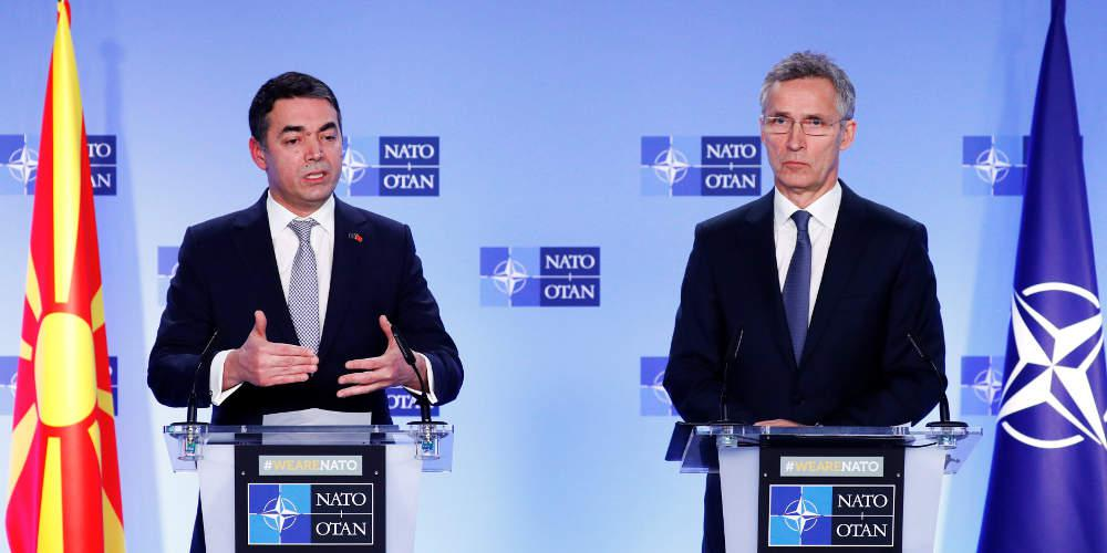 Στο ΝΑΤΟ τα Σκόπια: Υπεγράφη στις Βρυξέλλες το πρωτόκολλο προχώρησης [βίντεο]