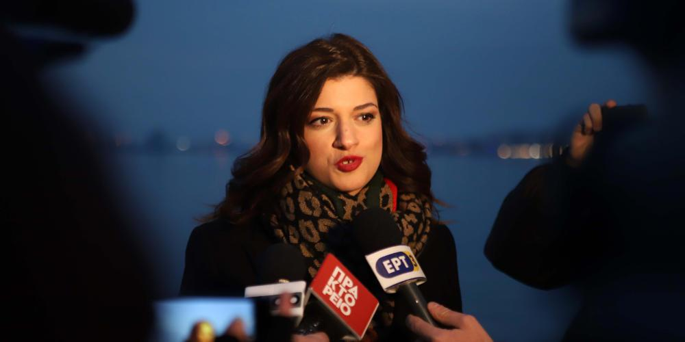 Νοτοπούλου: Δεν φοβάμαι να κυκλοφορήσω λόγω Σκοπιανού - Ο κόσμος θέλει κάτι διαφορετικό για τη Θεσσαλονίκη