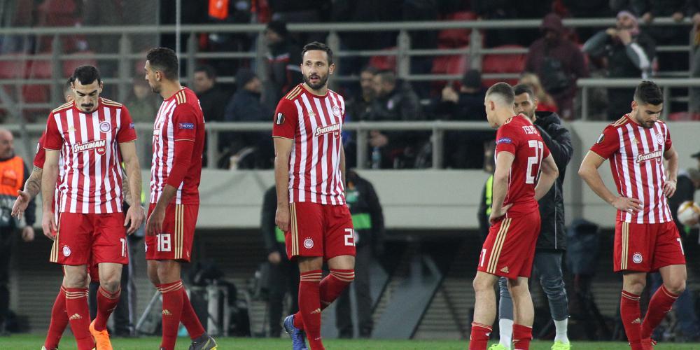 Europa League: «Πάγωσε» η πρόκριση για τον Ολυμπιακό, 2-2 με την Ντιναμό στο «Καραϊσκάκης»