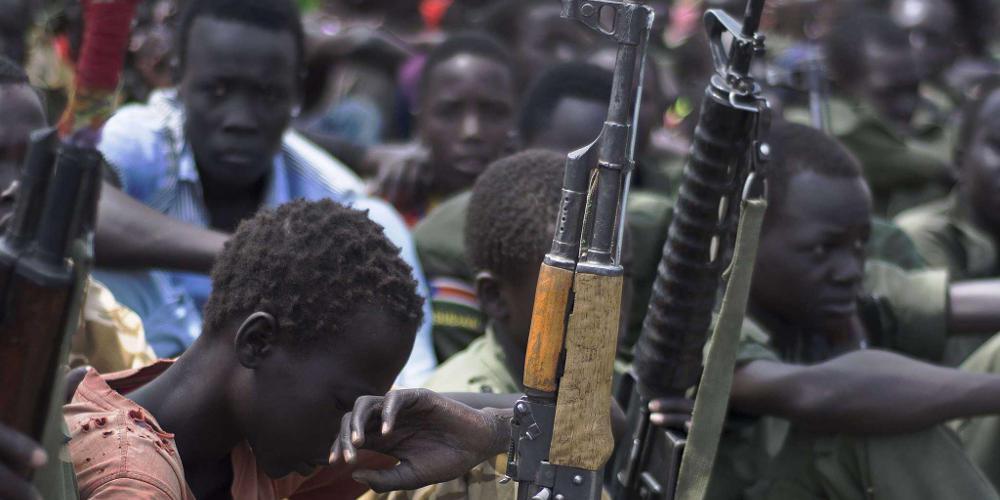 Η UNICEF προειδοποιεί για τα παιδιά-στρατιώτες