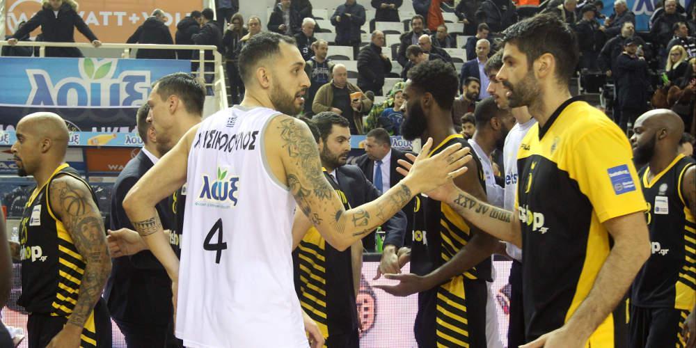 «Εμφύλιος» ΠΑΟΚ-ΑΕΚ στους «16» του Basketball Champions League