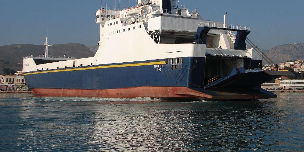 Βλάβη στο πλοίο «Πελαγίτης» την ώρα που εκτελούσε δρομολόγιο από Θεσσαλονίκη- Πειραιά