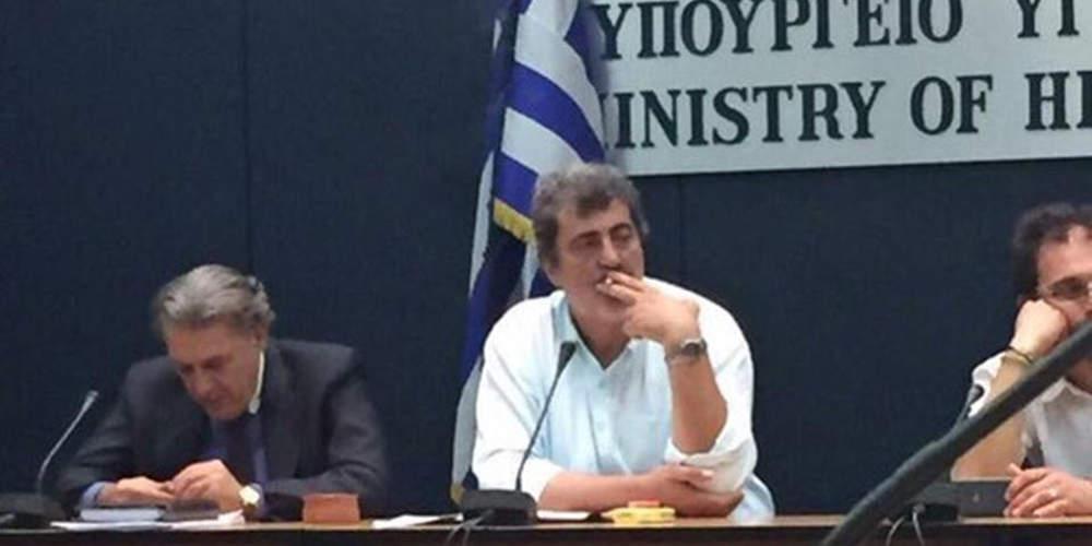 Ο Πολάκης απαντά στον Επίτροπο της ΕΕ για το τσιγάρο: Θα το κόψω όταν θέλω ok guy?