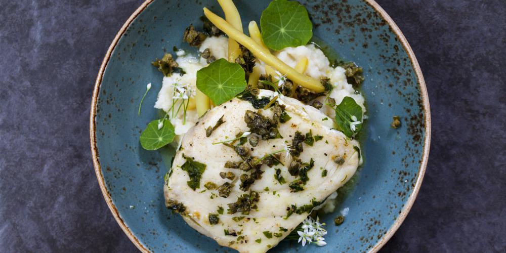 Η συνταγή της ημέρας: Ψάρι με λαχανικά