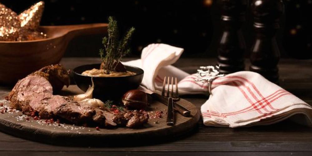 Ο Πέτρος Συρίγος μαγειρεύε ψαρονέφρι με πουρέ κάστανο