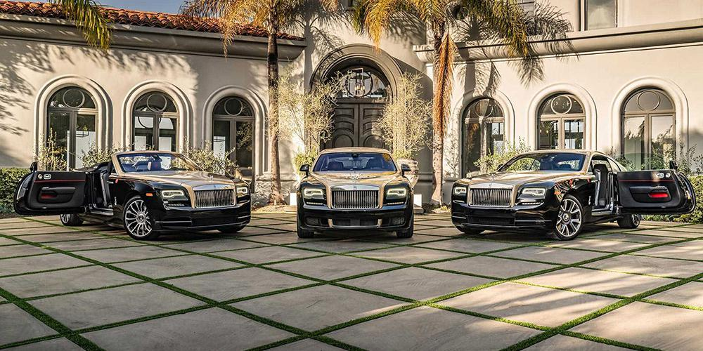 Η Rolls-Royce γιορτάζει την Χρονιά του Γουρουνιού με τέσσερις ειδικές εκδόσεις