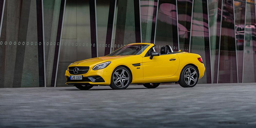Η Mercedes αποχαιρετά την SLC με την έκδοση Final Edition