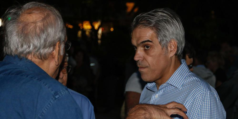 Ο Τεντόμας με τον Μπακογιάννη – Αποσύρει την υποψηφιότητα για τον δήμο Αθηναίων