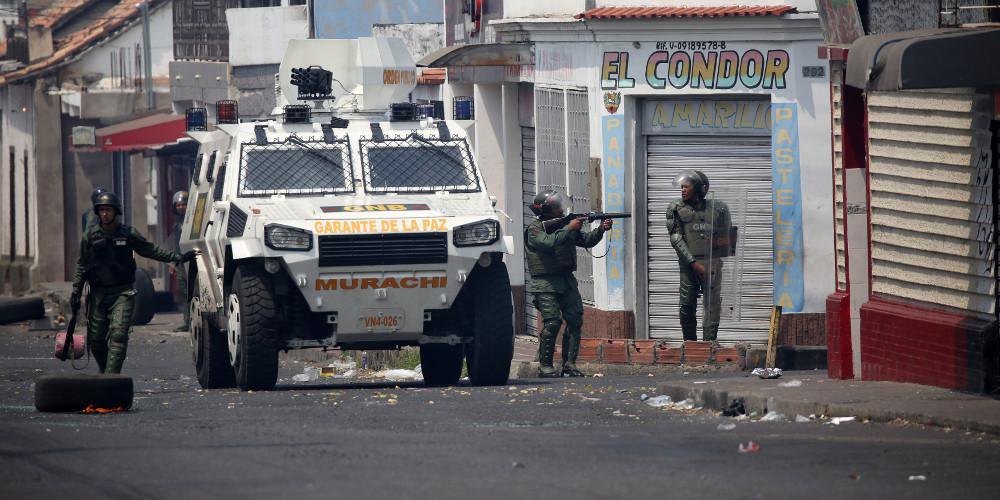 Δύο νεκροί από τις σφοδρές συγκρούσεις στην Βενεζουέλα - Ένα παιδί ανάμεσα τους