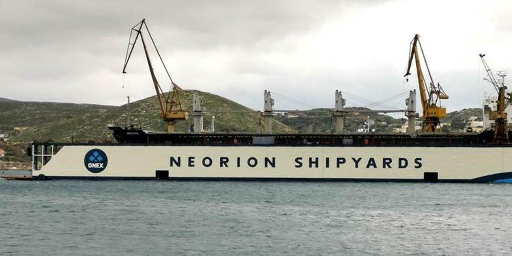 Ανακαινίστηκε η πλωτή δεξαμενή των ναυπηγείων Νεωρίου Σύρου «ΒΙΟΛΑΝΤΩ»
