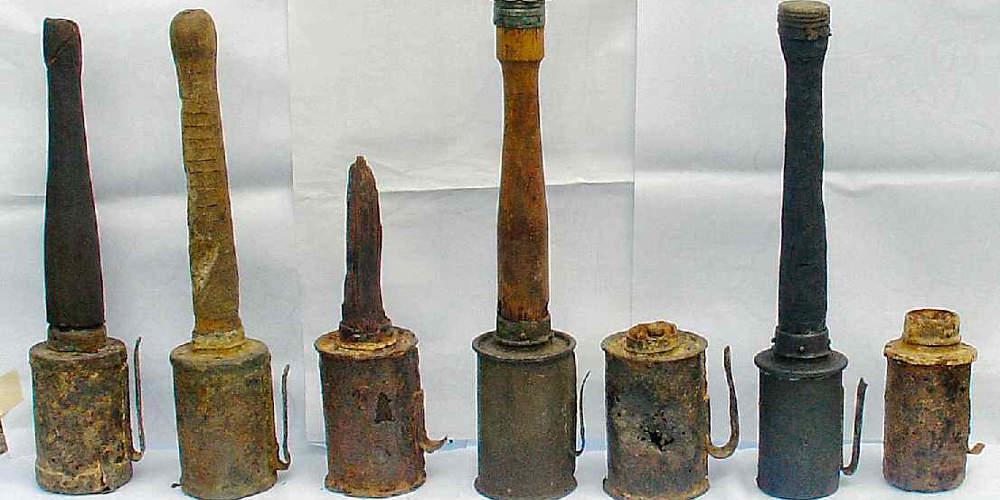 Απίστευτο: Χειροβομβίδα του Α' Παγκόσμιου Πολέμου βρέθηκε σε φορτίο με γαλλικές πατάτες