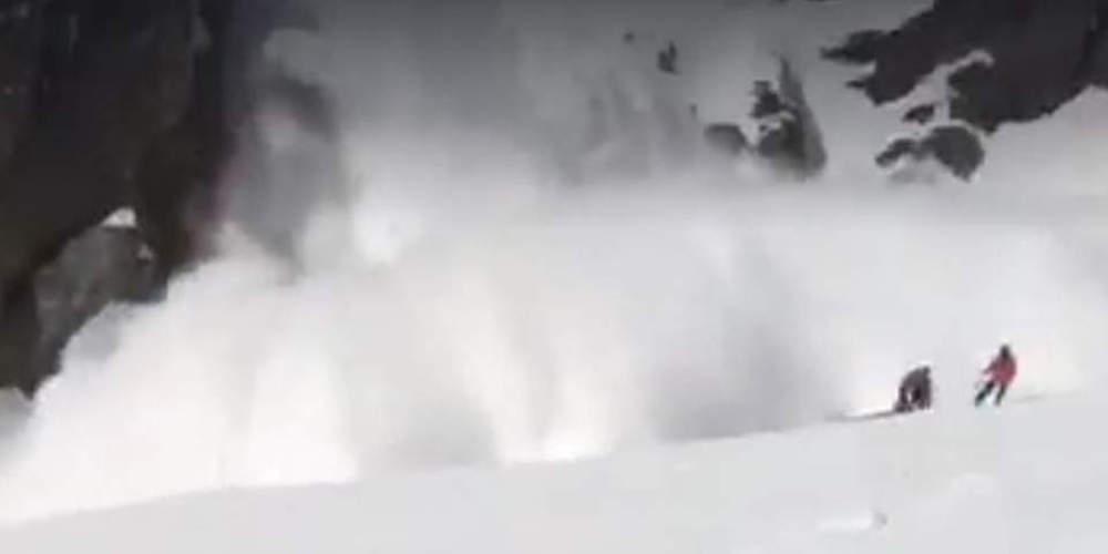 Ένας νεκρός και τρεις βαριά τραυματίες σκιέρ στην Ελβετία από χιονοστιβάδα [βίντεο ντοκουμέντο]