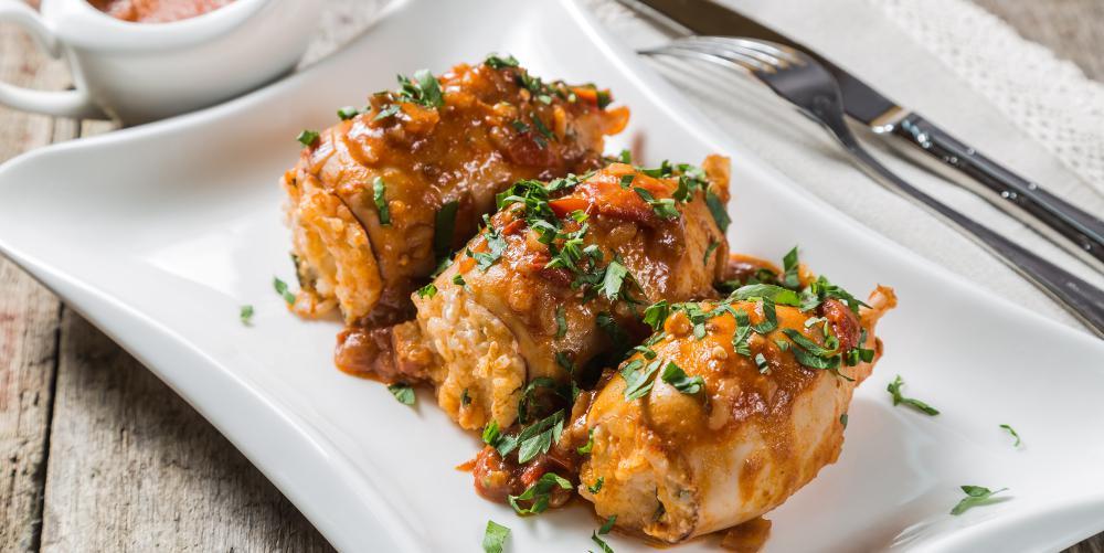Η συνταγή της ημέρας: Καλαμαράκια γεμιστά από τον Πέτρο Συρίγο