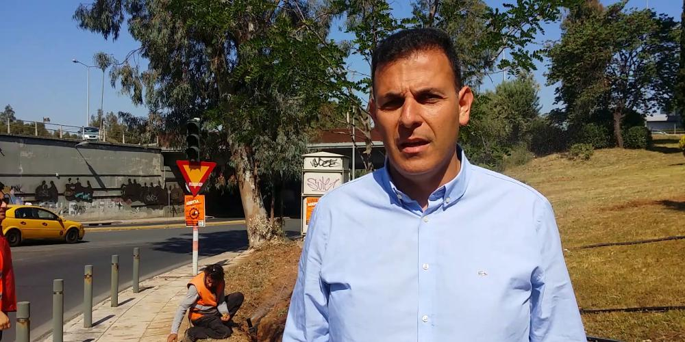 Συνάντηση του υποψηφίου δημάρχου Αμαρουσίου Γιώργου Καραμέρου με τα σωματεία εργαζομένων του Δήμου