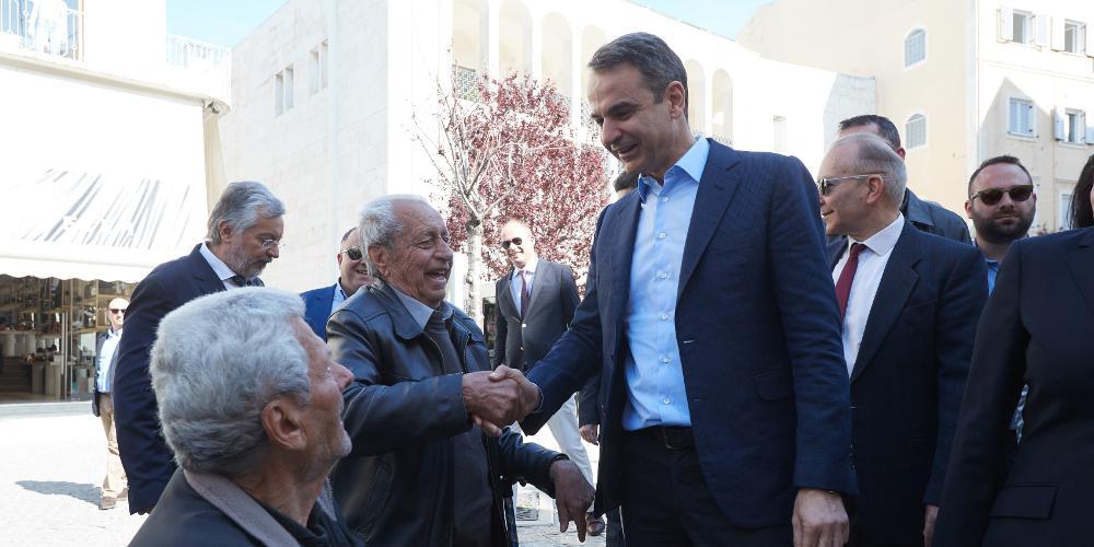 Στη Λακωνία περιοδεύει την Πέμπτη ο Μητσοτάκης – Ομιλία στη Σπάρτη και επίσκεψη στο Μυστρά