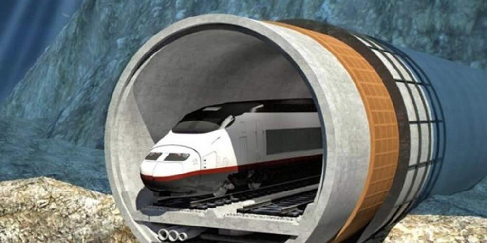 Κινέζοι κατασκευάζουν τη μεγαλύτερη υποθαλάσσια σιδηροδρομική σήραγγα στον κόσμο