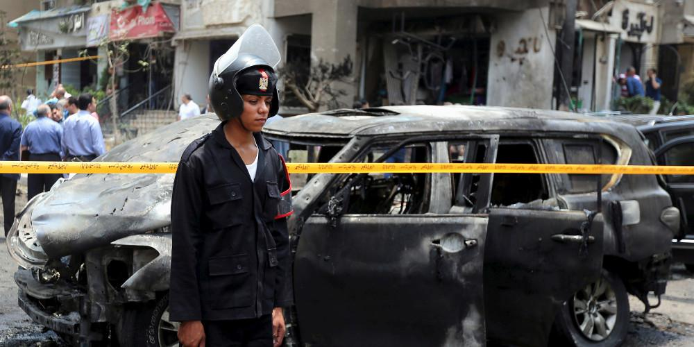 Επτά νεκροί, μεταξύ των οποίων και ένα παιδί, από επίθεση αυτοκτονίας στο βόρειο Σινά