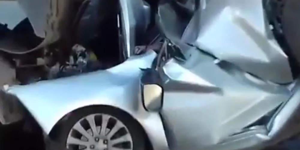 Καραμπόλα επτά οχημάτων στην Εθνική Οδό Θεσσαλονίκης - Μουδανιών