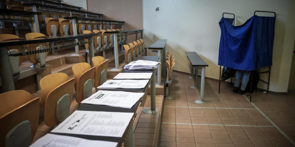 Δημοσκόπηση MRB: Υπεροχή ΝΔ σε εθνικές εκλογές και ευρωεκλογές - Σωστή η πρόταση μομφής στον Πολάκη