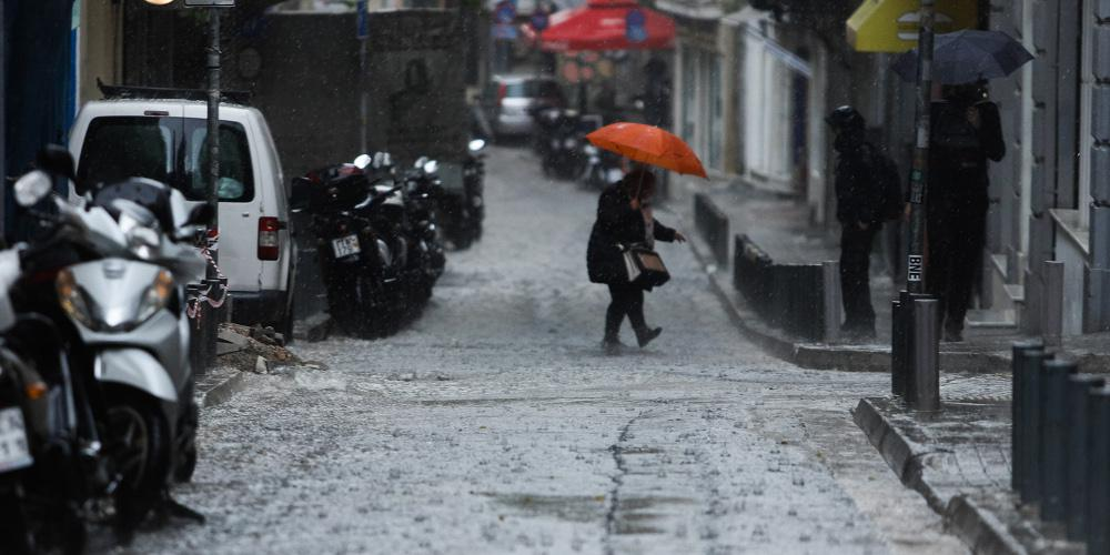 Συνεχίζονται οι βροχές και οι καταιγίδες το Σάββατο - Οι περιοχές που θα επηρεαστούν