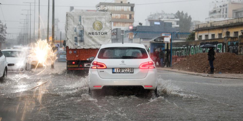 Πρόγνωση καιρού: Νέα κακοκαιρία με καταιγίδες,χαλάζι και θυελλώδους άνεμους