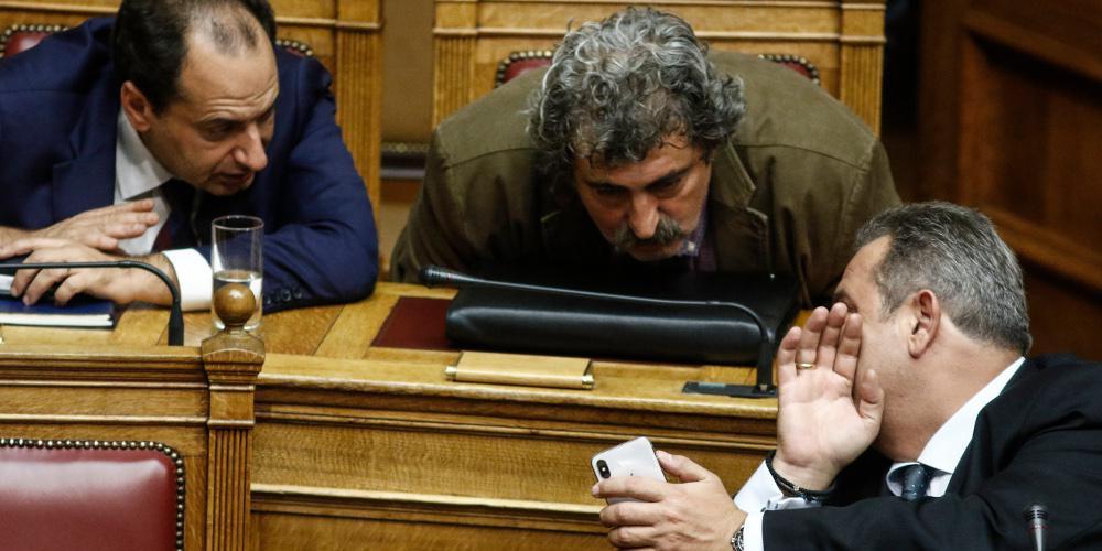 Αρση ασυλίας: Ο νόμος περί ευθύνης υπουργών έσωσε Καμμένο και Πολάκη