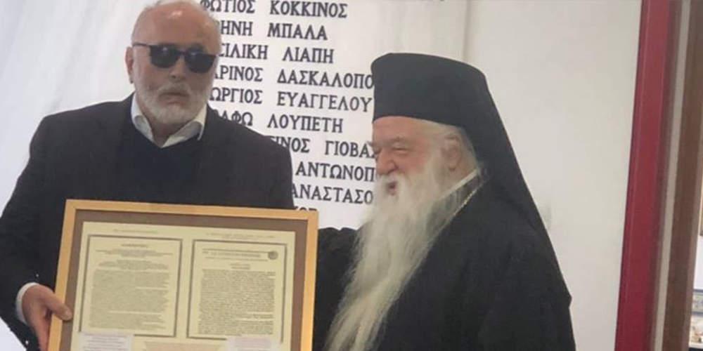 Ο Αμβρόσιος σηκώνει ασπίδα προστασίας στον Κουρουμπλή και επιτίθεται σε ΣΥΡΙΖΑ και Ακρίτα
