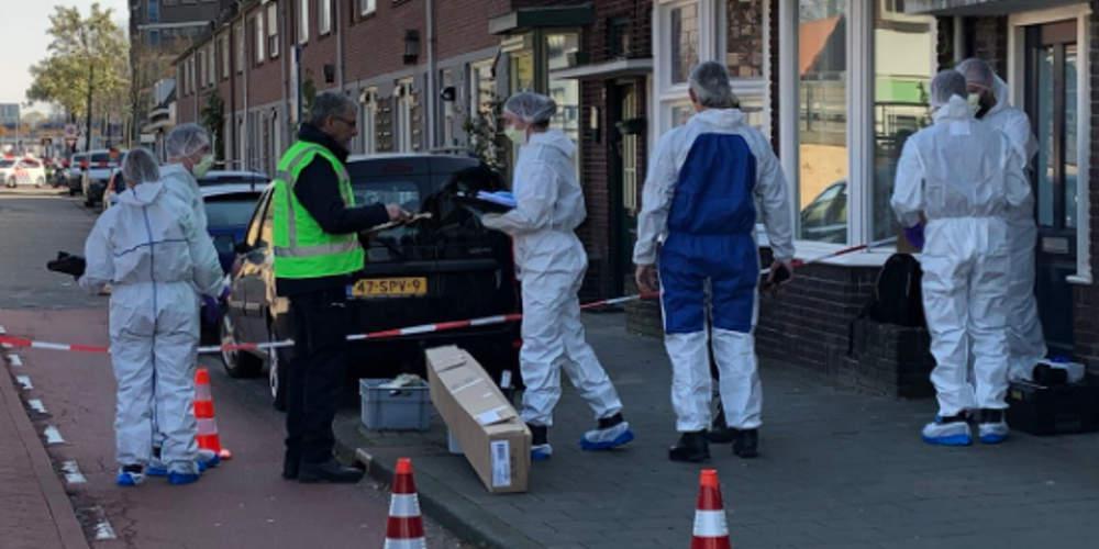 Άνδρας έπεσε νεκρός από πυροβολισμούς σε γειτονία του Άιντχόβεν της Ολλανδίας [εικόνες]