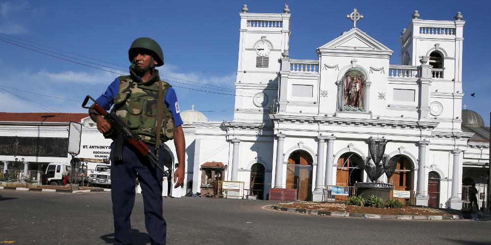 Ο φόβος καλά κρατεί στη Σρι Λάνκα: Κλειστές μέχρι νεωτέρας οι εκκλησίες τις Κυριακές