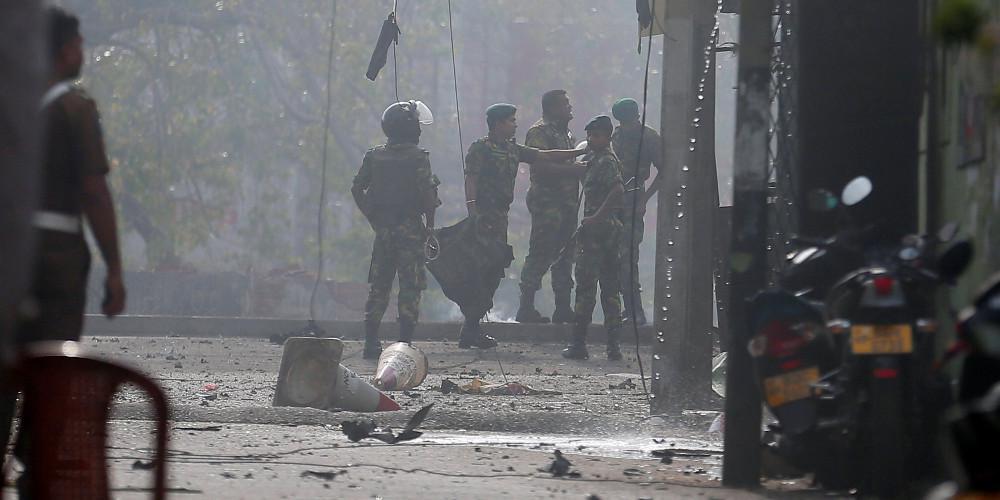 Νέες εκρήξεις στην Σρι Λάνκα κατά την διάρκεια αστυνομικής επιχείρησης