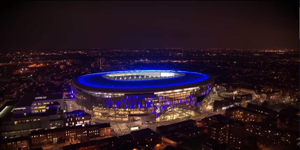 Έτοιμο το υπερσύγχρονο γήπεδο της Τότεναμ [βίντεο]