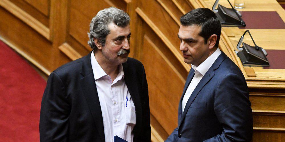 Παύλος Πολάκης, Αλέξης Τσίπρας