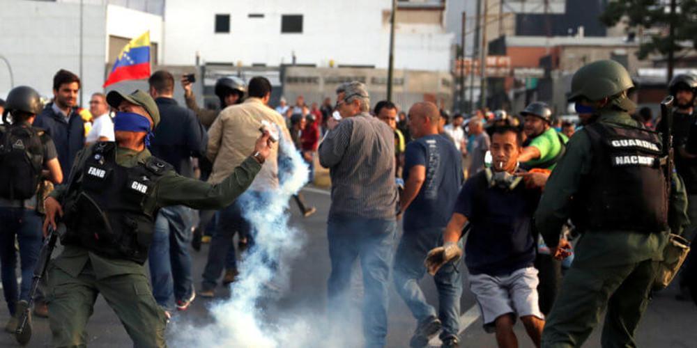 Στα πρόθυρα εμφυλίου η Βενεζουέλα: Μία νεκρή στις διαδηλώσεις κατά του Μαδούρο