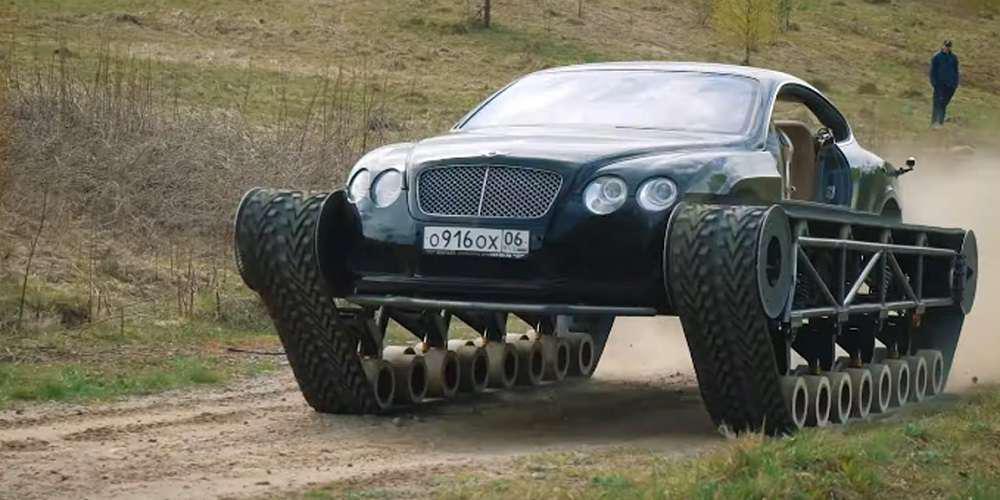 Ρώσος μετατρέπει Bentley Continental GT σε ...τανκ [βίντεο]