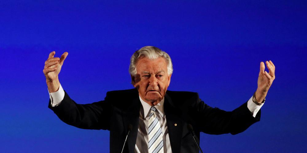 Πέθανε σε ηλικία 89 ετών ο πρώην πρωθυπουργός της Αυστραλίας Μπομπ Χοκ