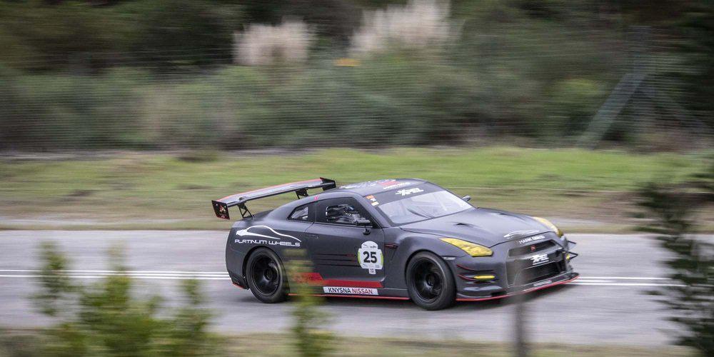 Σαρωτικές νίκες για το Nissan GT-R στο Simola Hill Climb.