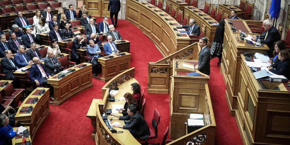 ΝΔ: Οι υπουργοί απουσίαζαν από τη βουλή για να μην ταυτισθεί η εικόνα τους με τον Πολάκη