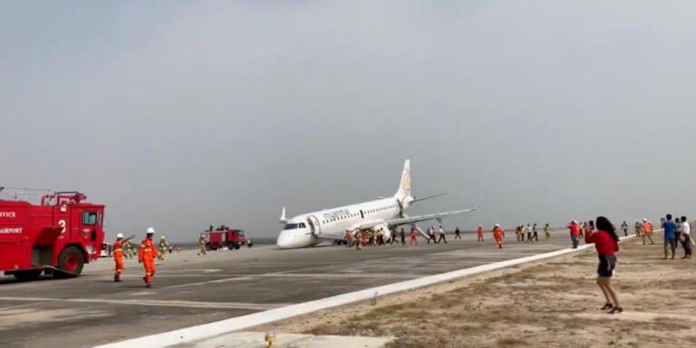 Τρόμος στον αέρα! Αεροπλάνο προσγειώθηκε χωρίς τους μπροστινούς τροχούς [βίντεο]