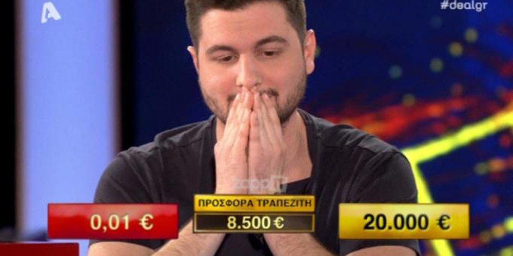 «Εμφράγματα» στο πλατό του Deal ακόμα και για τον Φερεντίνο: Επεισόδιο για γερά νεύρα [βίντεο]